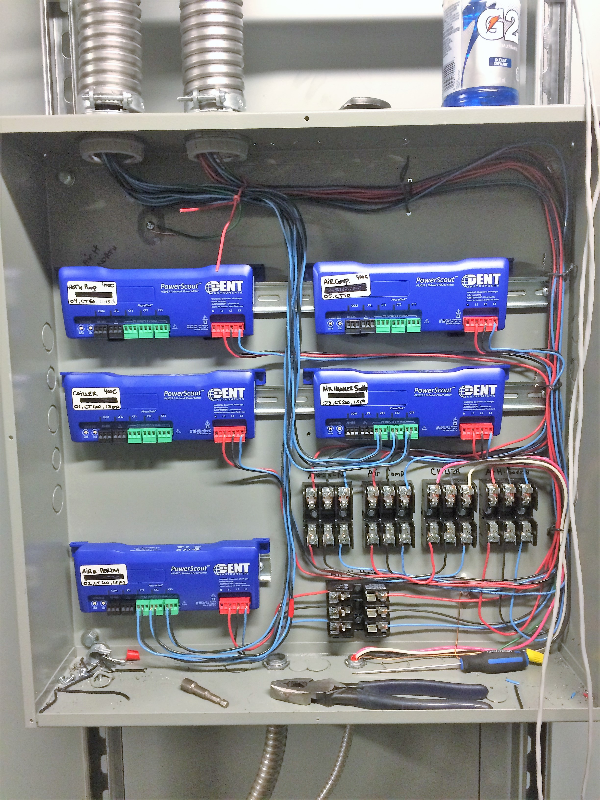 Energy Savings Metering system for High rise building - In progress